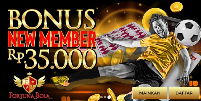 Bonus new member fortunabola