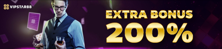 extra bonus 200% vipstar88