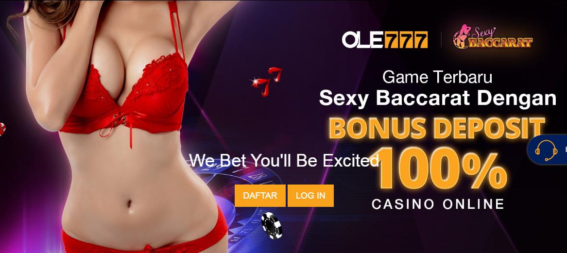 bonus deposit 100% ole777