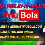 Prediksi Parlay Akurat 19 Januari 2020